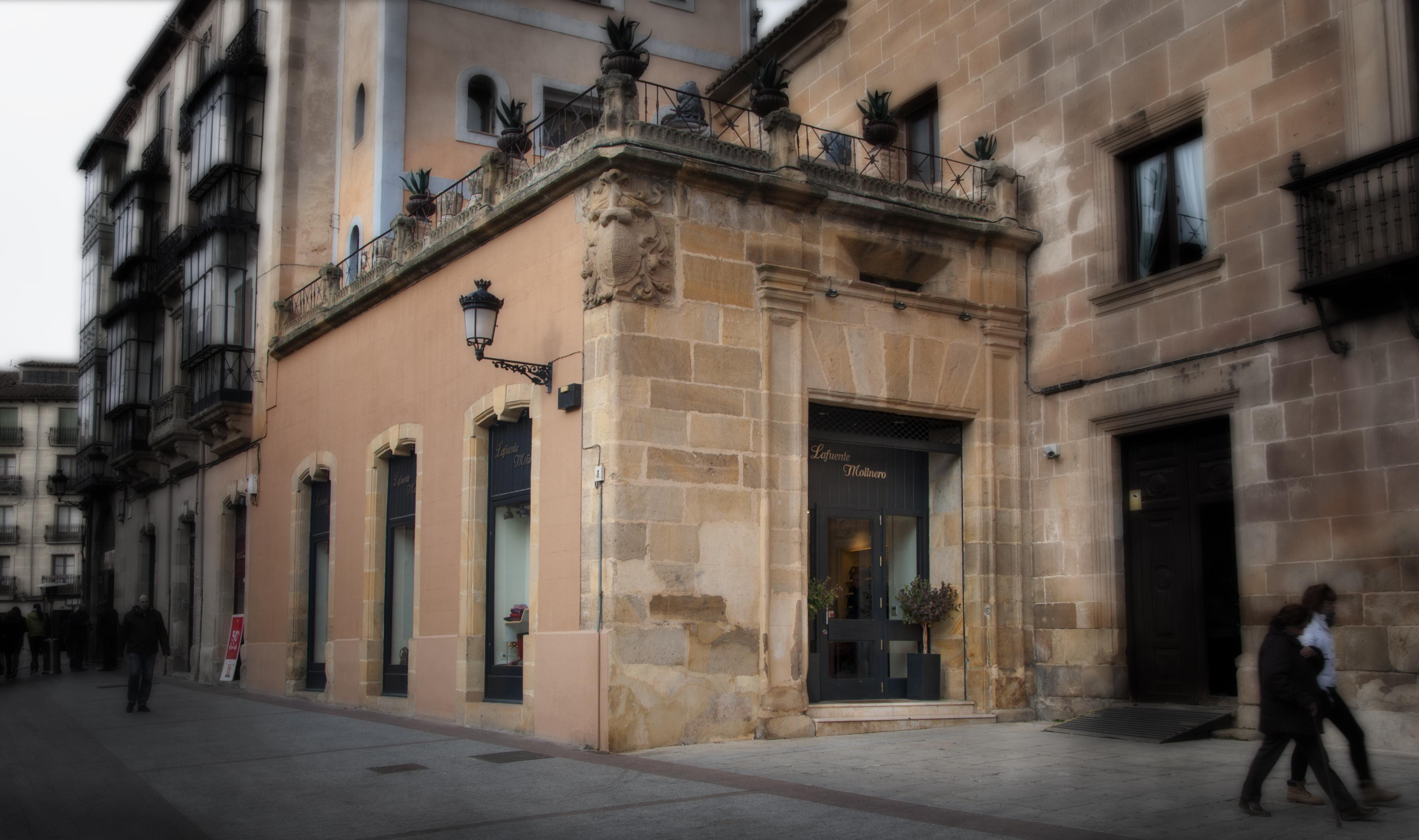 Lafuente Molinero Palacio Condes de Gómara Soria